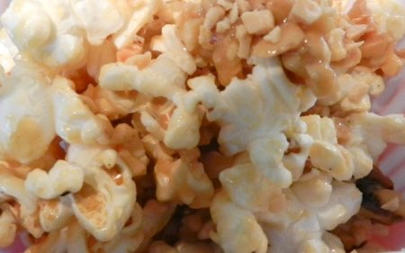 popcorn peanut butter