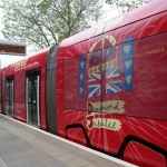 tram Queens jubilee