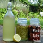 Elderflower vodka