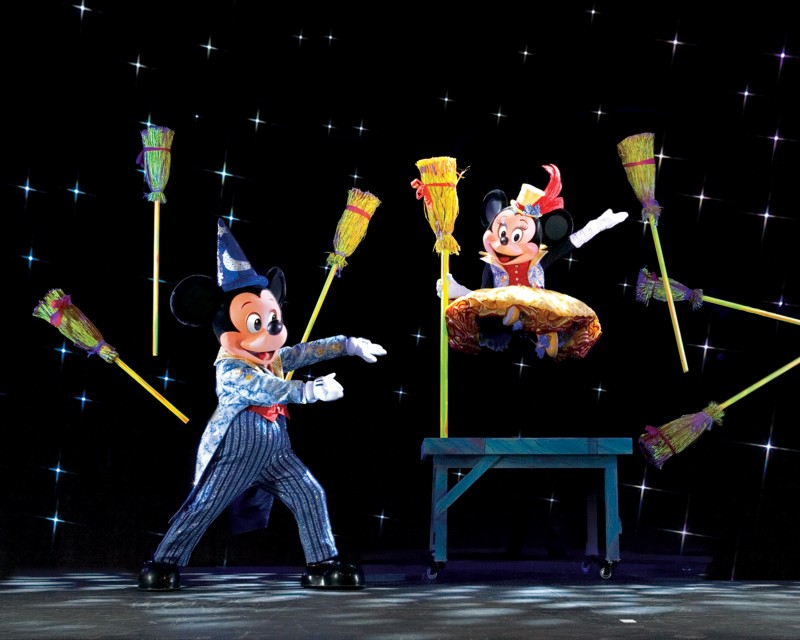 Mickey mouses magic show Disney