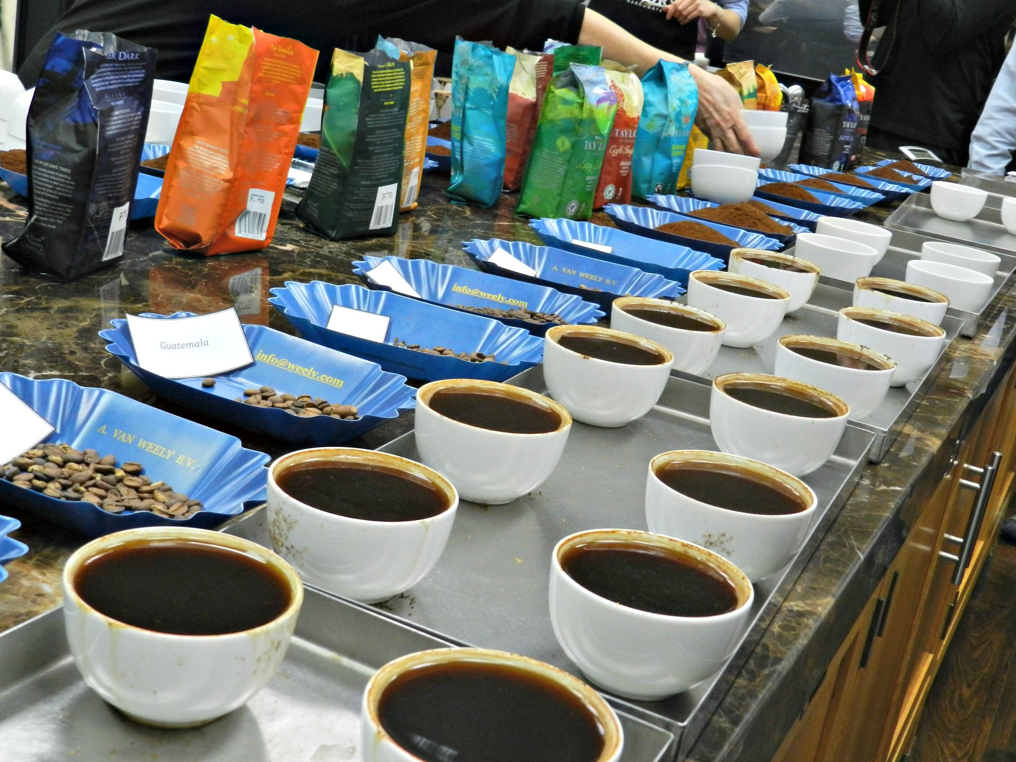 Coffee tasting &#8211; single blend.