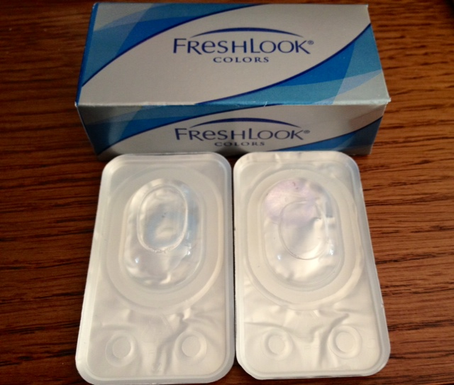 freshlook lens violet and blue