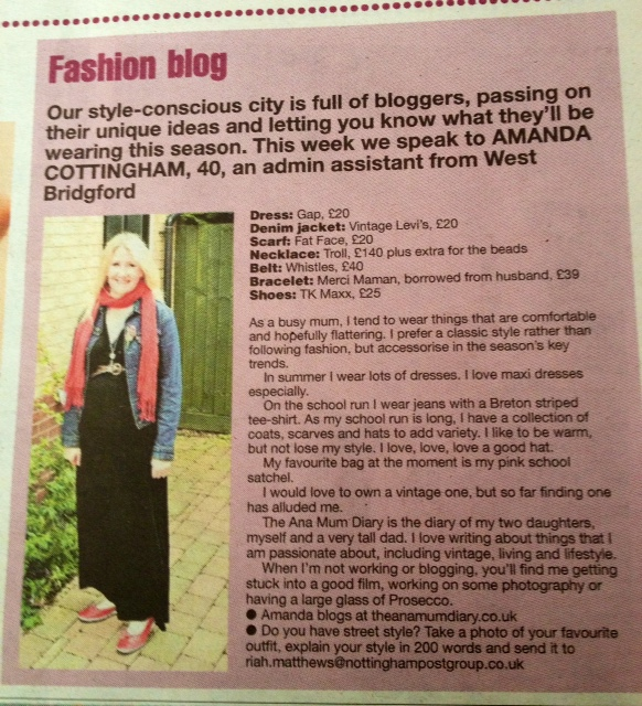 Nottingham Fashion Blogger