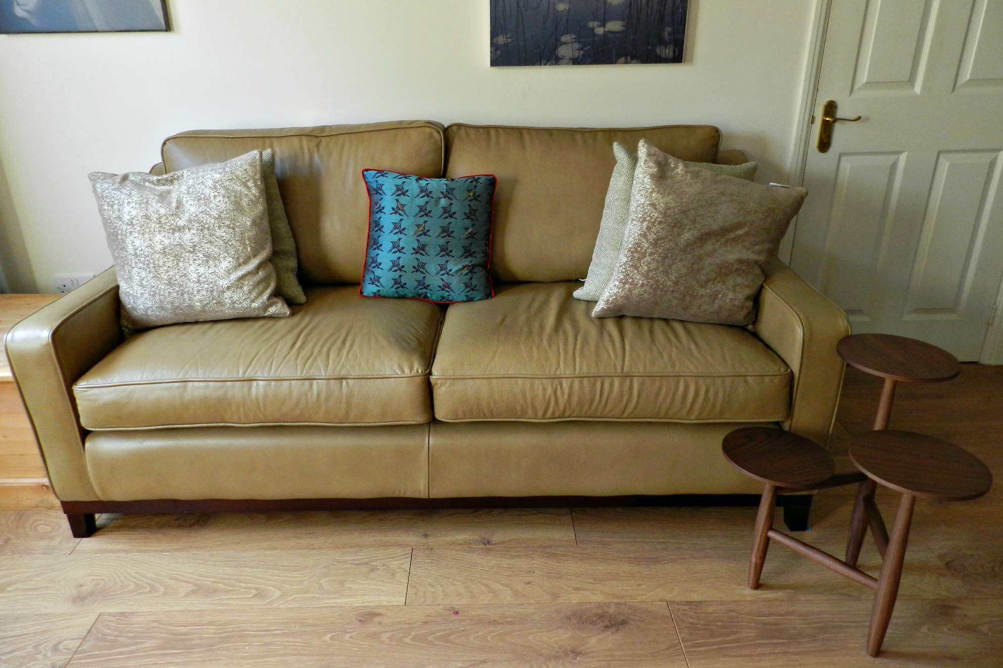 living room makeover : Sofas