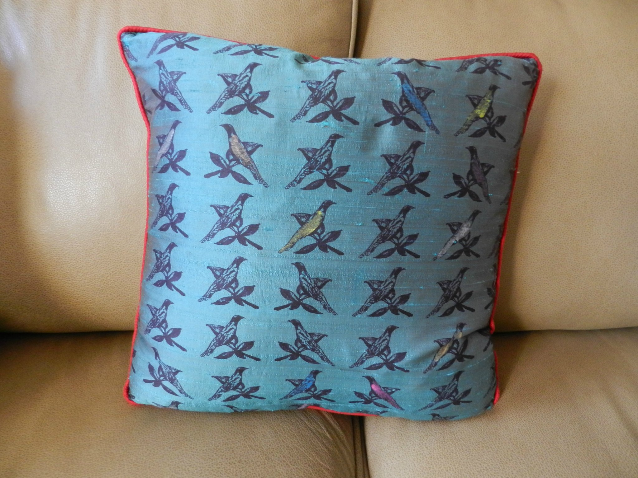 Liberty Cushion Teal