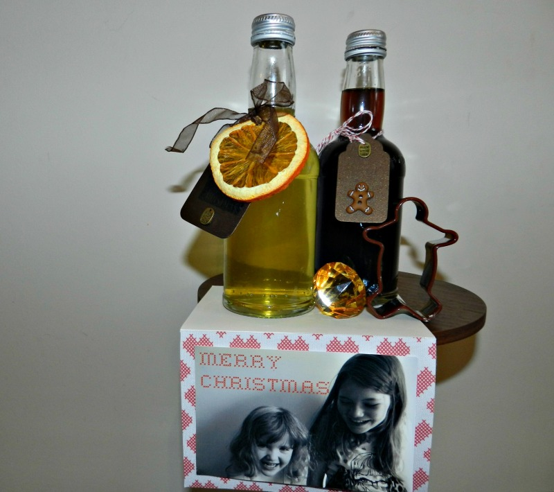 Spiced Vodka Gingerbread syrup
