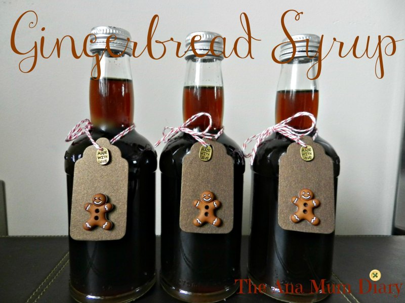 homemade christmas gifts gingerbread syrup