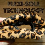 Flexi-Sole technology redfoot