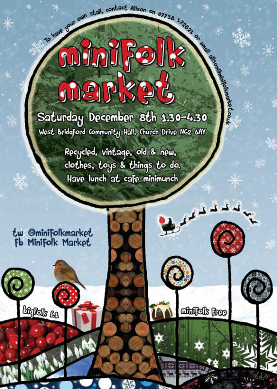minifolk market craft christmas gifts west bridgford Nottingham