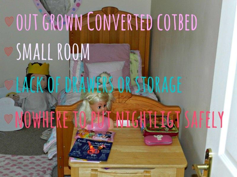 toddler bedroom moving to big girls bed,