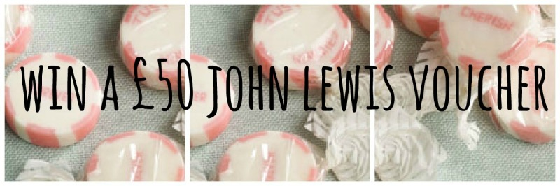 John Lewis competition voucher win