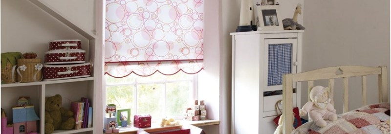 Roller Blinds, Childrens Room hillarys