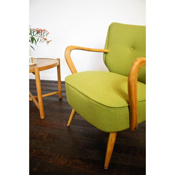 Johnny Moustache 1950s chair