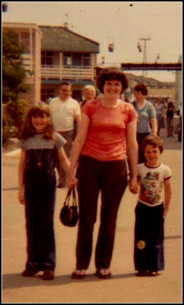 Butlins photograph, archive 1980 and 1970 