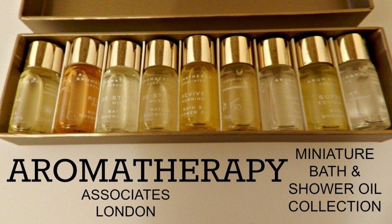 Aromatherapy Associates, London bath and shower oil Miniatures