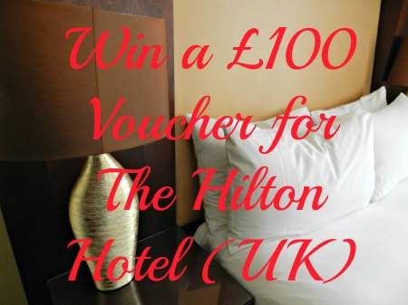Giveaway, win hotel Vouchers 100 Hilton