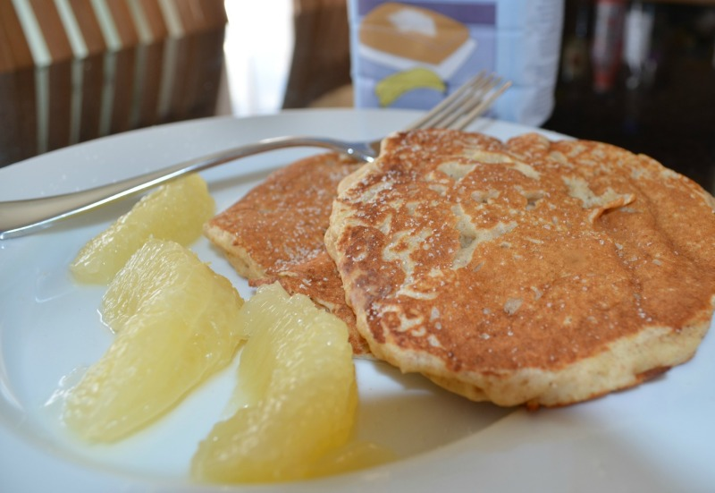 Wholewheat Breakfast Pancakes