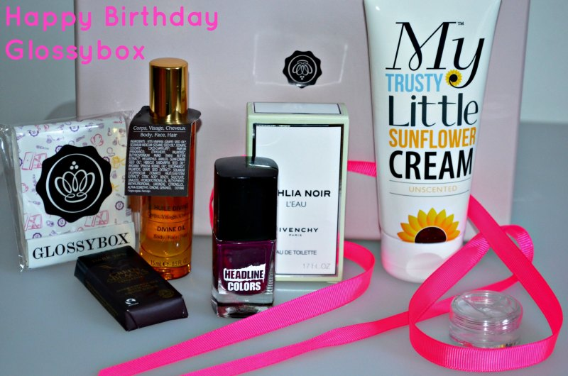 Glossybox May 2013 2nd Birthday