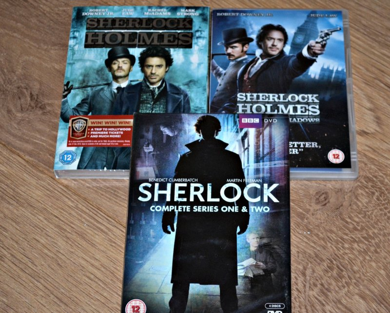 Sherlock TV and Film DVDs