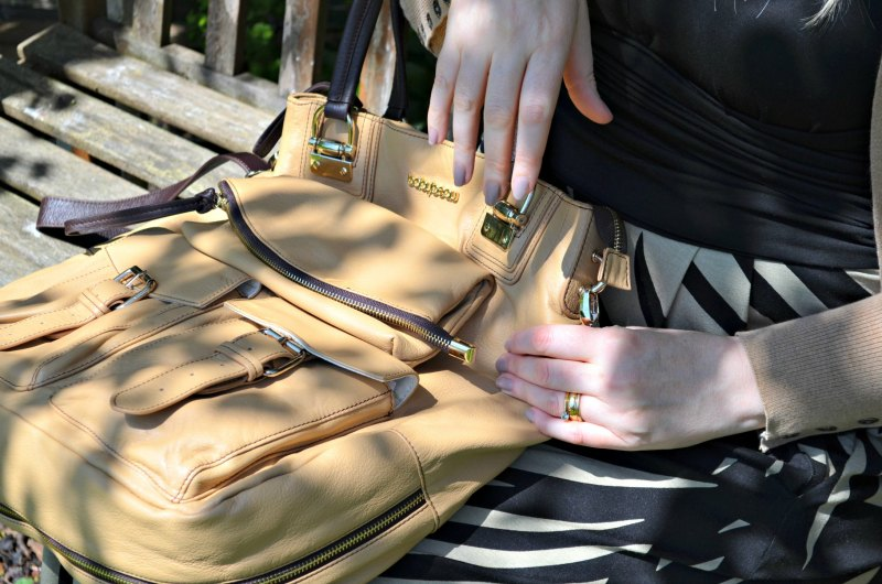Baby Changing Bag : Leather Baby Beau