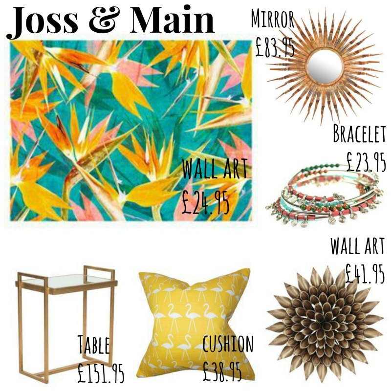 joss and main : giveaway