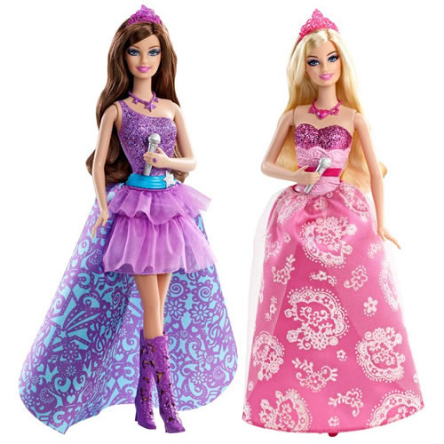 Miss a 39 s first trip to the cinema barbie in the princess and the popstar the ana mum diary - Jeux de barbie popstar ...
