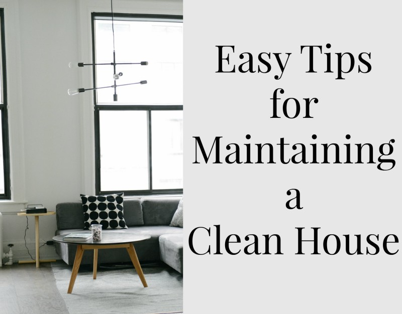 Easy tips for maintaining a clean house the ana mum diary Cleaning tips for the home uk